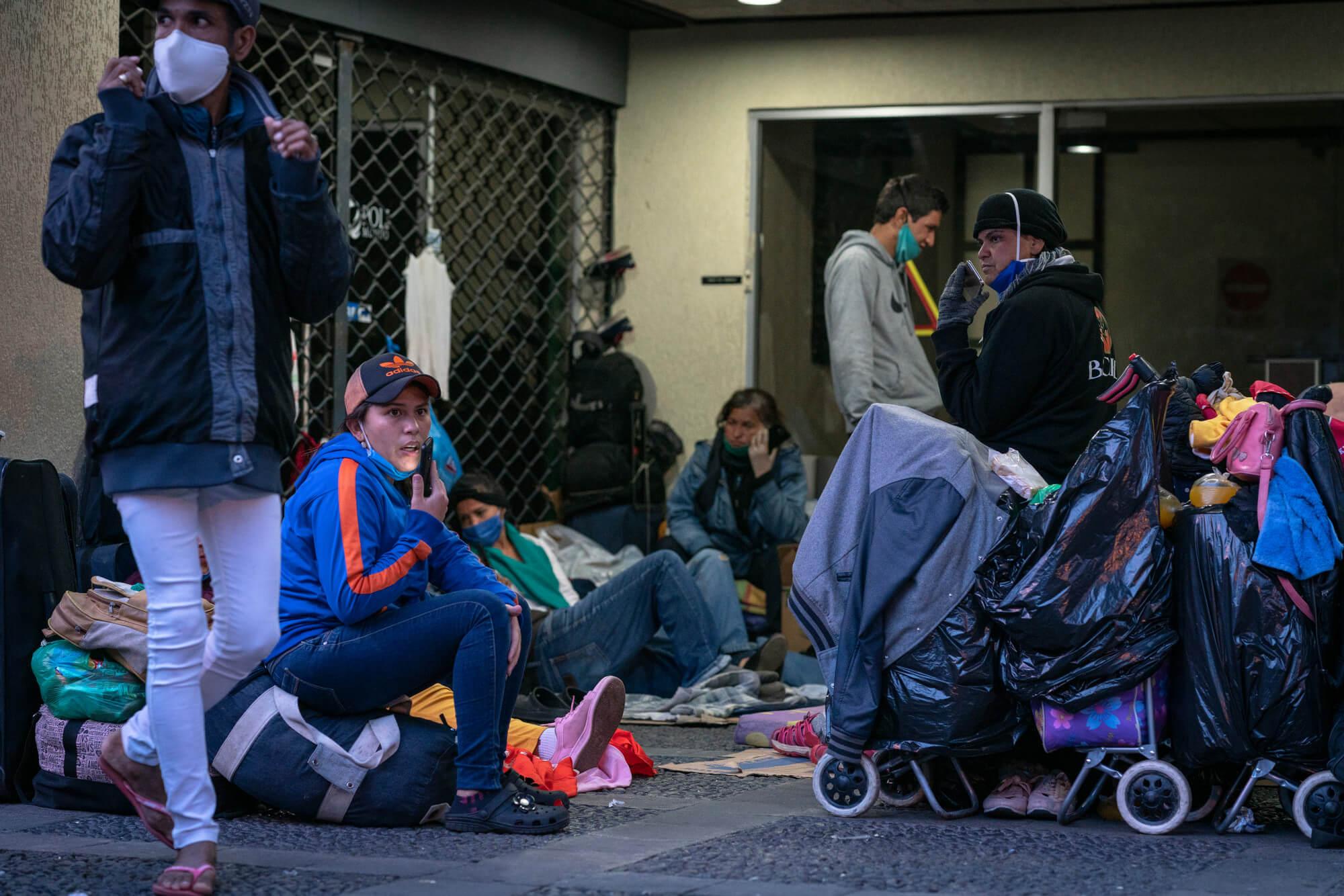 Ze života uprchlíků během pandemie COVID-19
