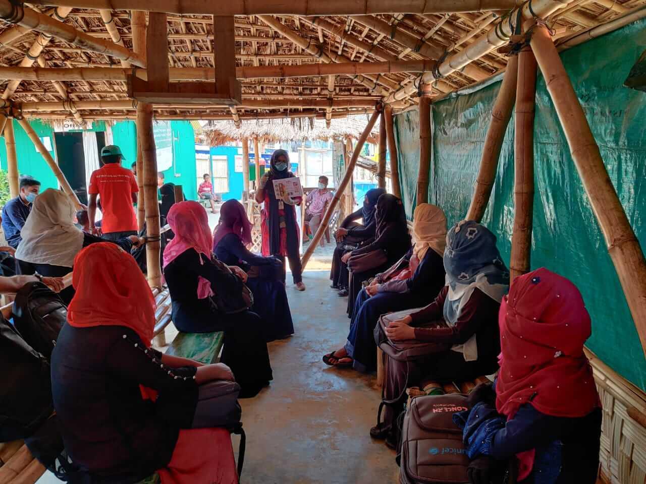 Hrdinové dnešní doby: Humanitární pracovníci CARE čelí koronaviru v největším uprchlickém táboře na světě