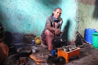 Život sbalený do jedné tašky – vše co si Amreh přeje, je stabilní budoucnost