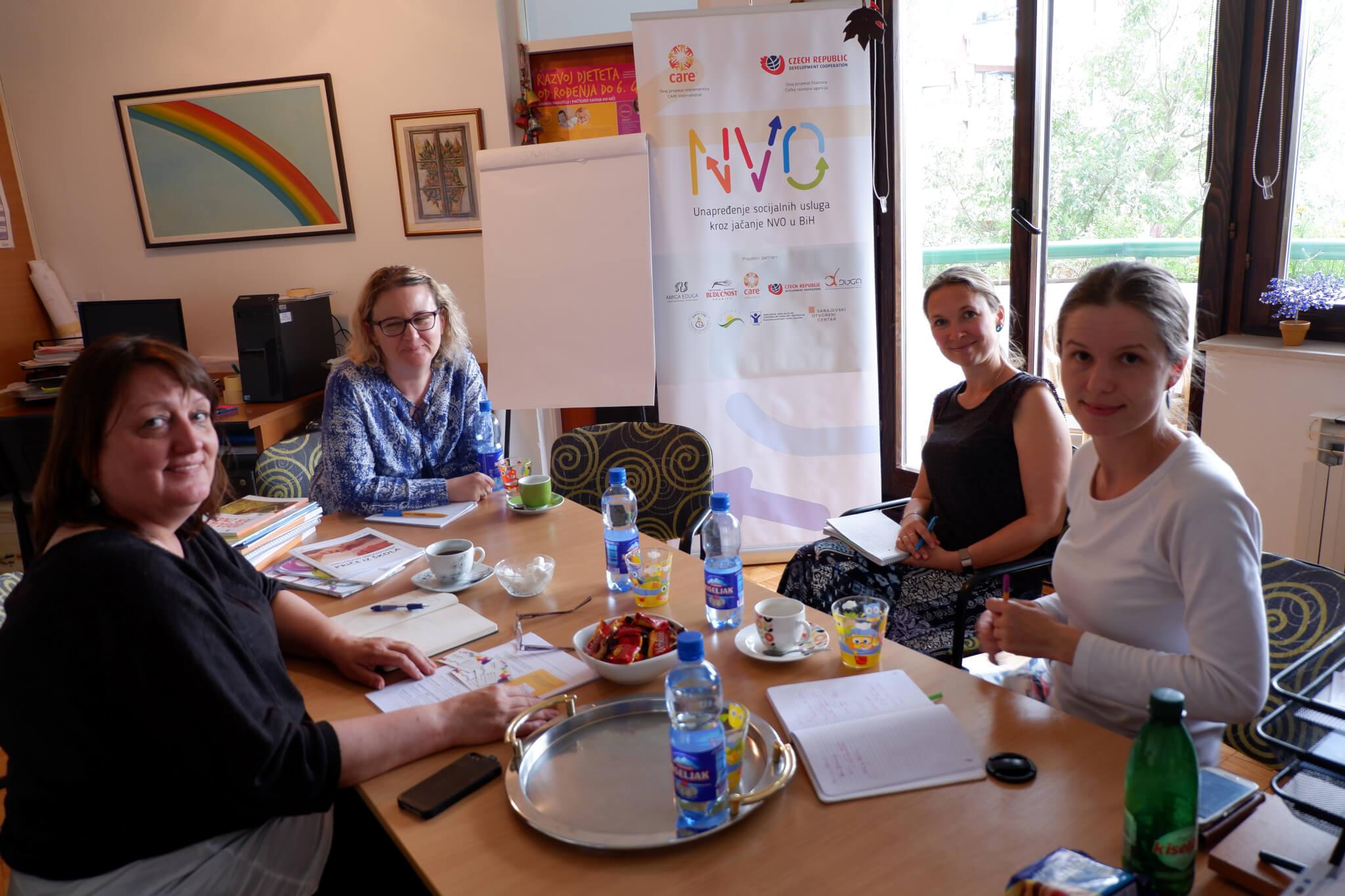 Bosna a Hercegovina: Lepší sociální ochrana skrze posílení kapacit neziskových organizací