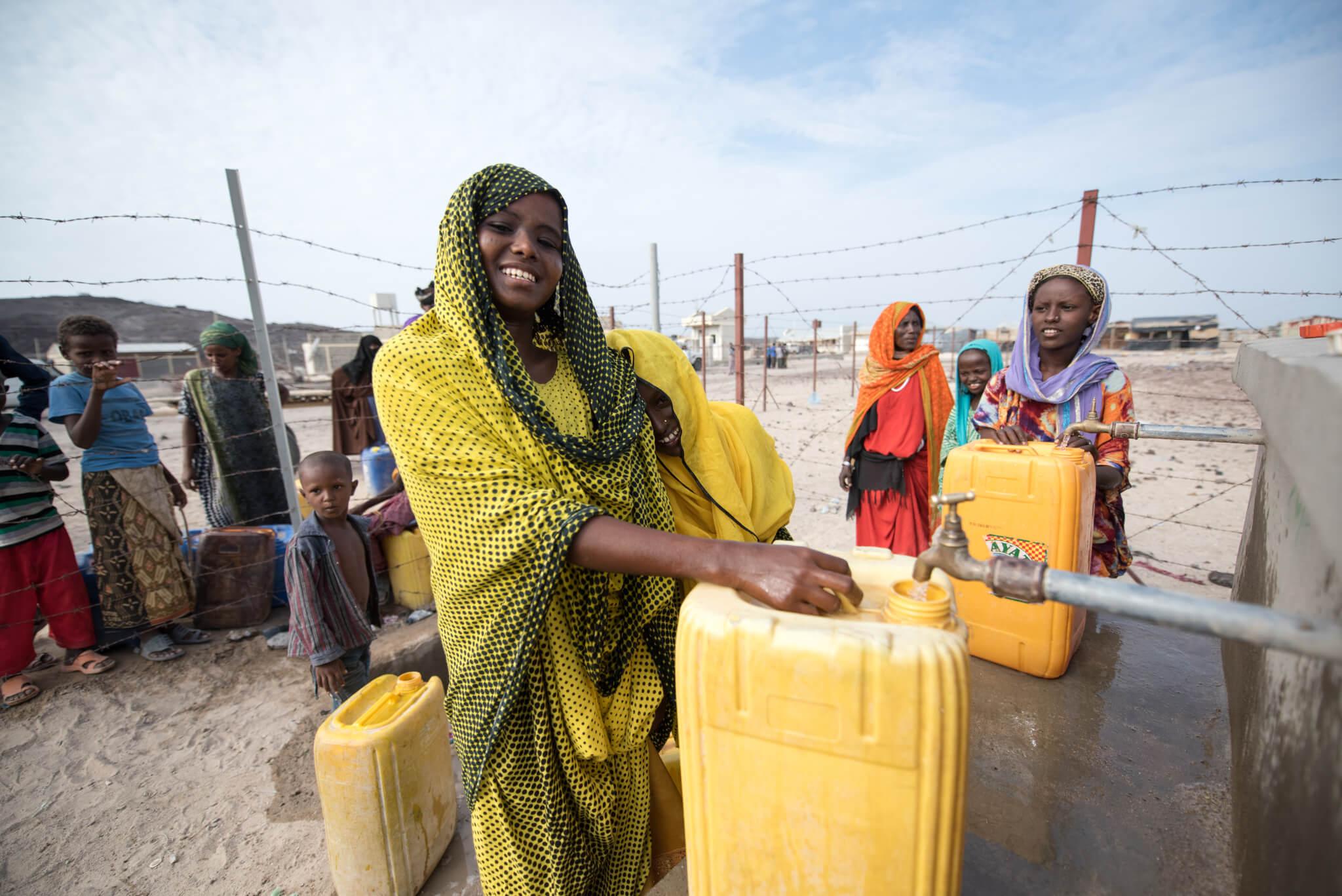 Etiopie: Přístup k vodě a sanitaci pro vnitřně přesídlené osoby a hostitelské komunity, druhá fáze, East Hararghe